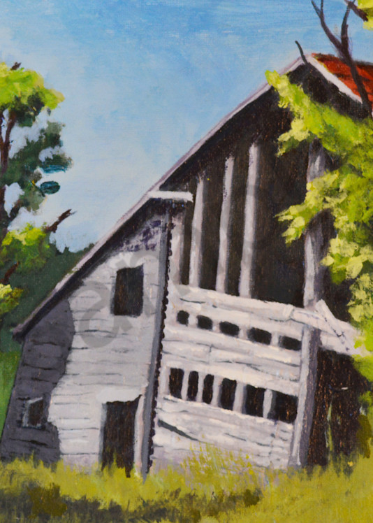 Tumble Down barn