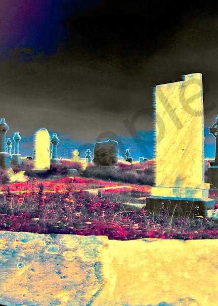 Inishmoor Graveyard  Art | toddbreitling
