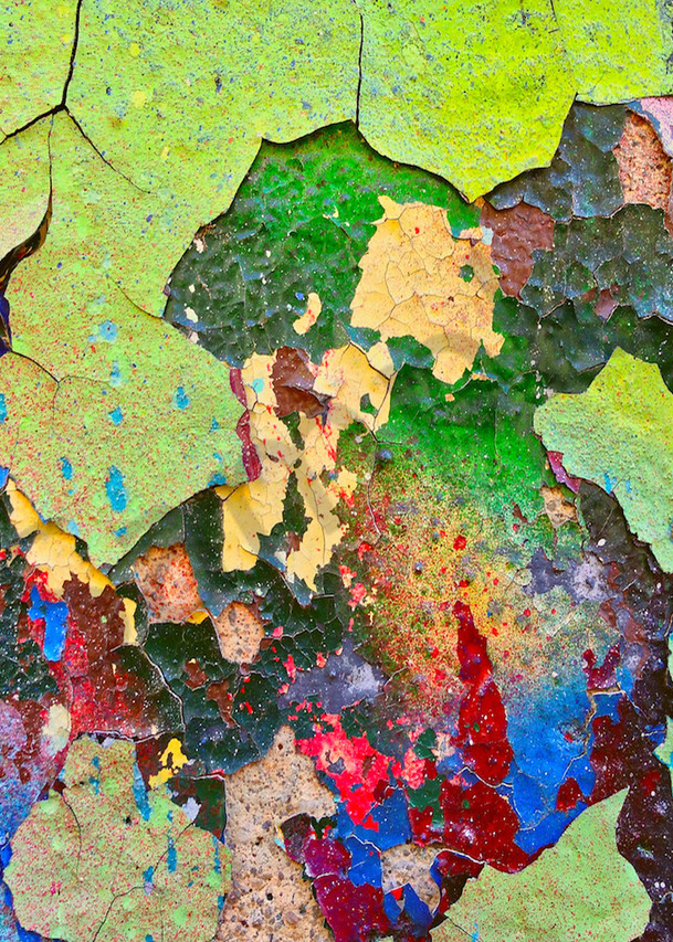 Peeling Paint Colors|Fine Art Photography by Todd Breitling|Abstract Photography|Todd Breitling Art