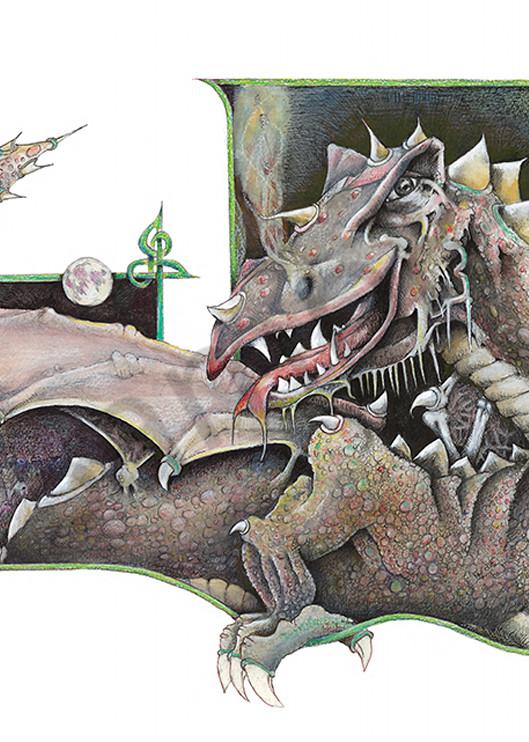 A Dragon With No Name Art   Digital Arts Studio / Fine Art Marketplace