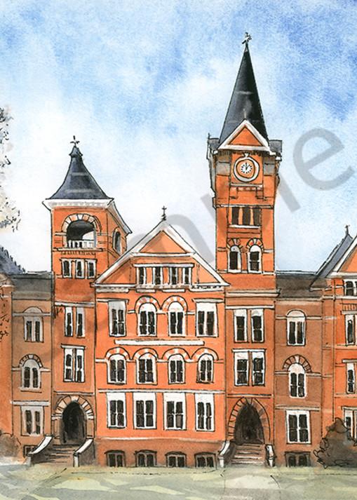Samford Hall, Auburn Univ. Art   Digital Arts Studio / Fine Art Marketplace