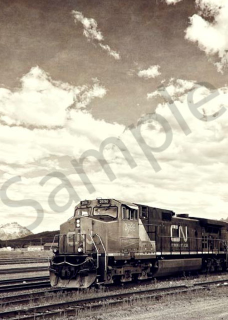 Canada Rail Art   AngsanaSeeds Photography