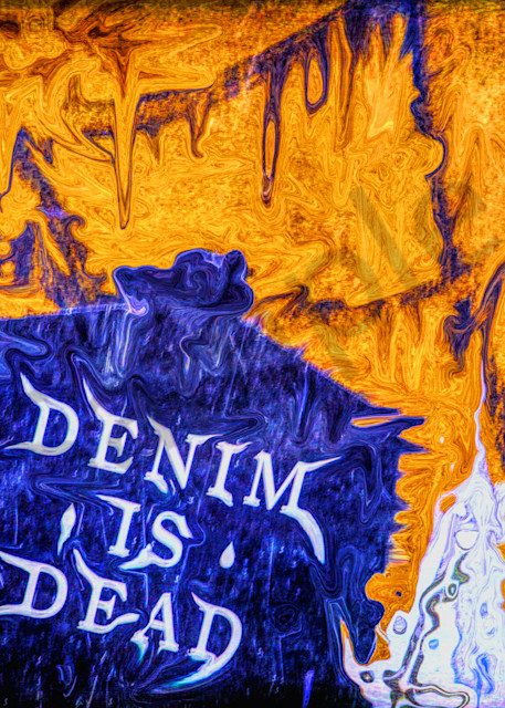 Denim Is Dead|Fine Art Photography|Graffiti and Street Photography|Todd Breitling Art|