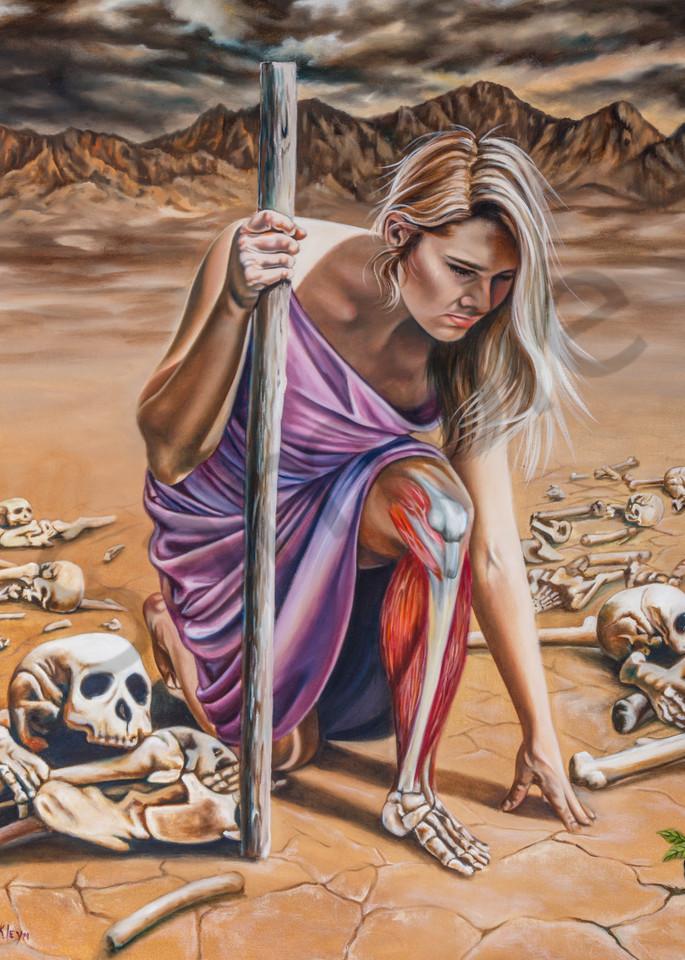 """Dry Bones"" by South Africa Artist Ilse Kleyn   Prophetics Gallery"