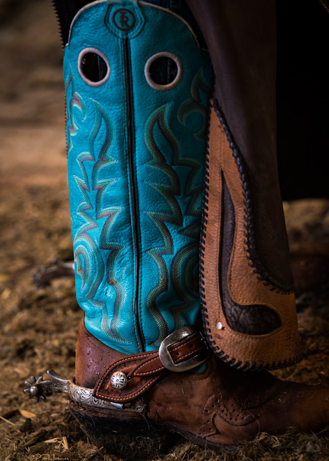Turquoise Boot