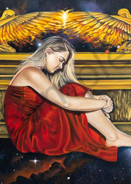 """The Secret Place"" by South African Artist Ilse Kleyn   Prophetics Gallery"