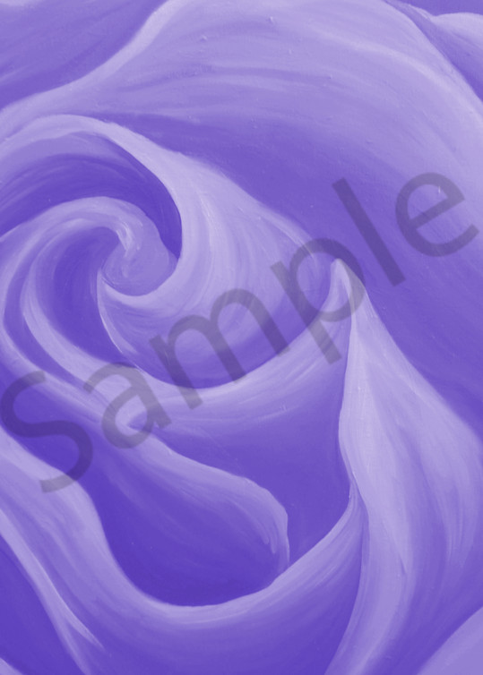 Light Purple Rose Art   Art By Dana