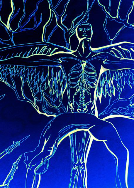 Blue Gabriel  Art | Art By Dana