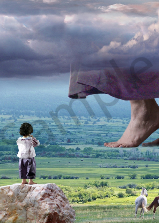 """He Still Walks"" by Bill Stephens | Prophetics Gallery"