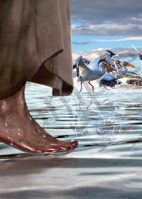 """Walk on Water"" by Bill Stephens   Prophetics Gallery"