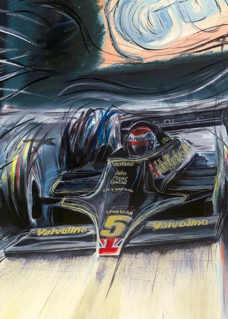 Monza 78   Mario Andretti Art | Motorart 27