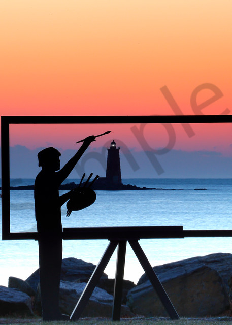Seascape Painting | Robbie George Photography