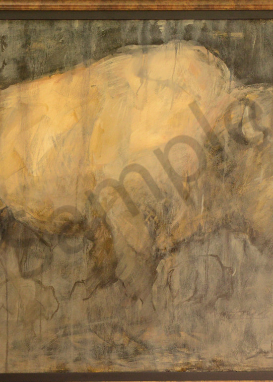 Monarch Of The Plains 38x48 Art | Mary Roberson