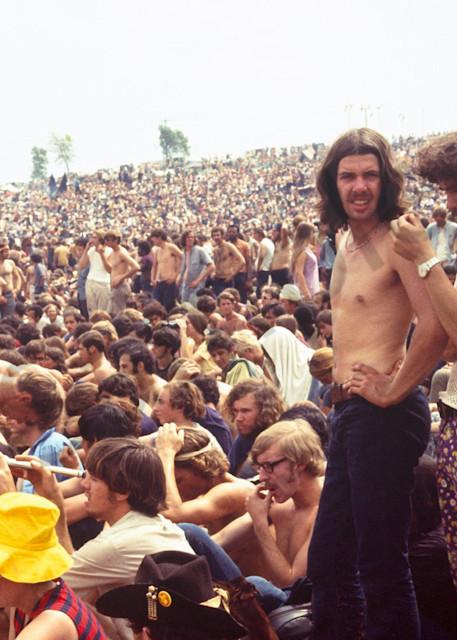 037 Woodstock Crowd Art | Cunningham Gallery