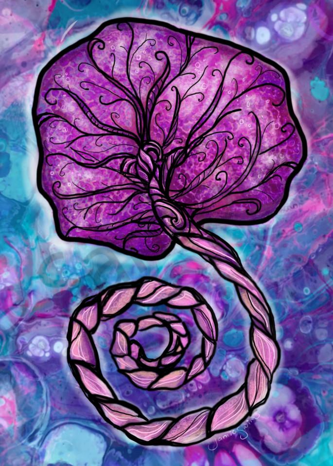 Placenta Art | Swim Whimsey