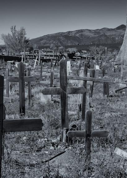 Cemetery   Taos Pueblo, New Mexico Photography Art   Namaste Photography