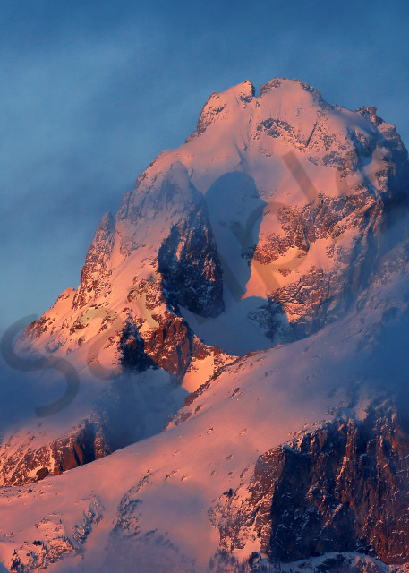 Teton Mountain Range | Robbie George Photography