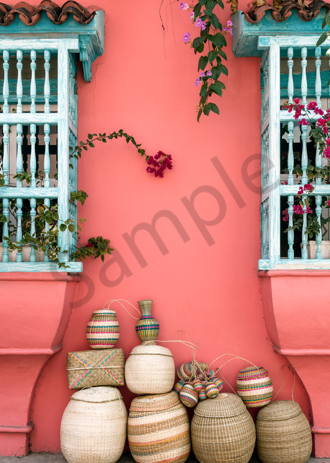 Baskets And Windows Photography Art | Images by Louis Cantillo