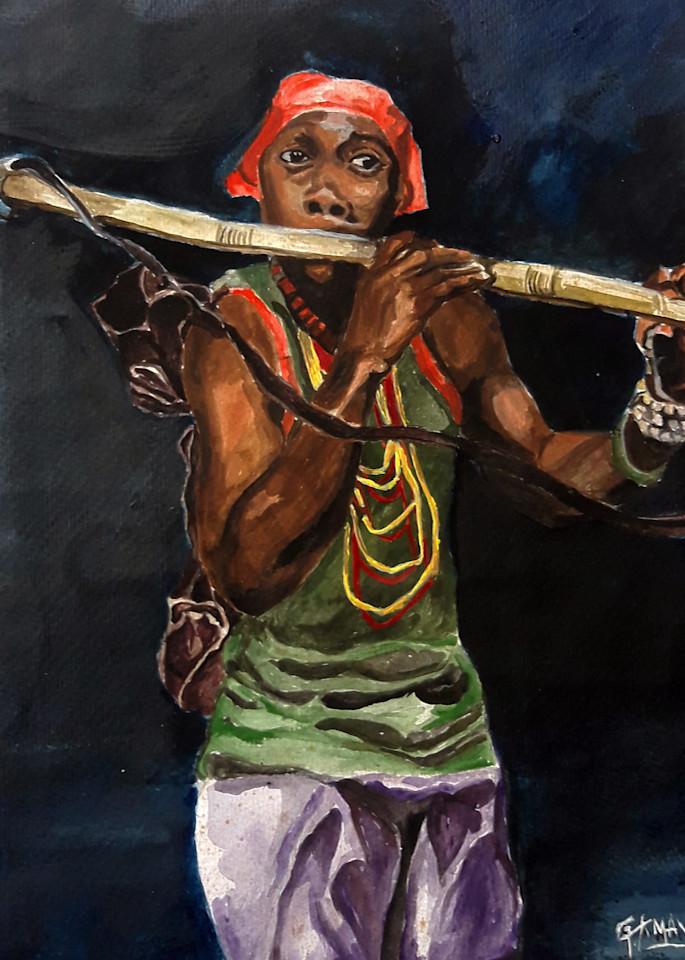 """Sound Of Music"" by Godwin Amavi   Prophetics Gallery"