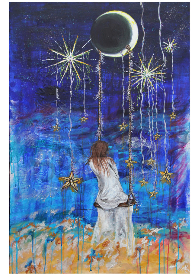 """Dream Away"" by Missouri artist Megan Kasper   Prophetics Gallery"