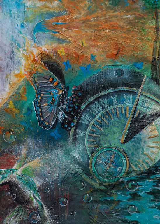 """""""Passage Of Time"""" by Yvonne Coombs 