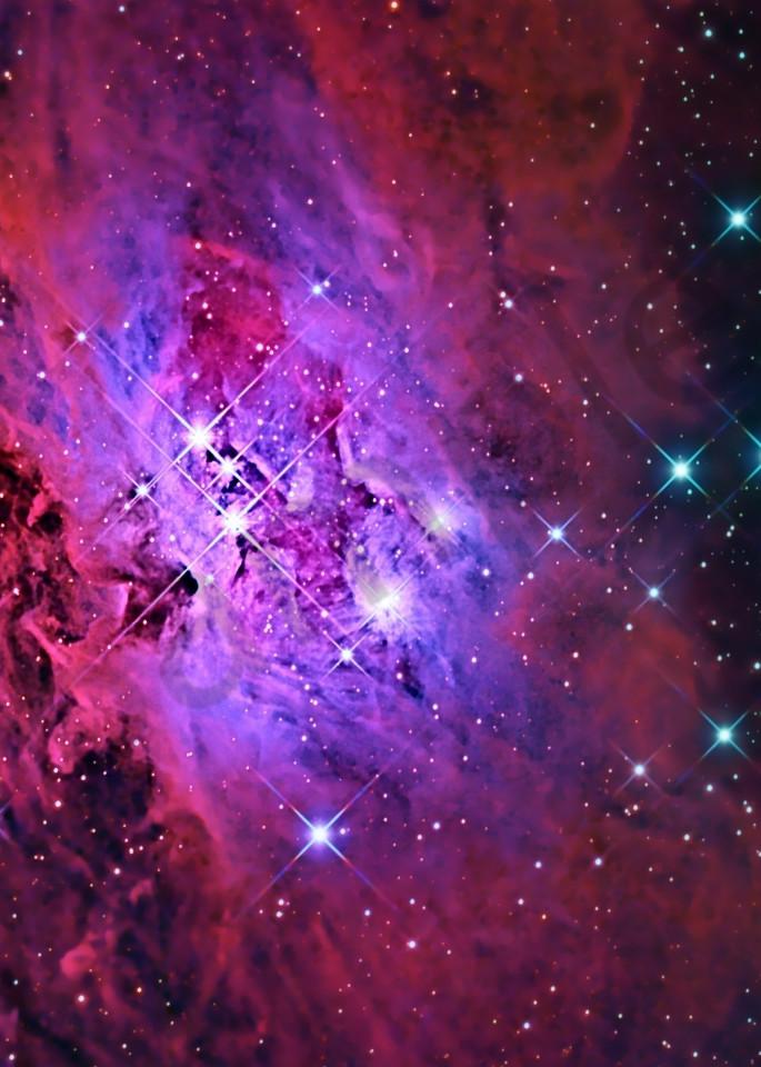 Running Man Nebula Photography Art | Dark Sky Images