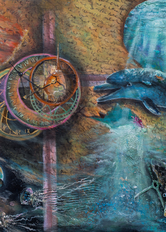 """""""Unraveling"""" by Yvonne Coombs 