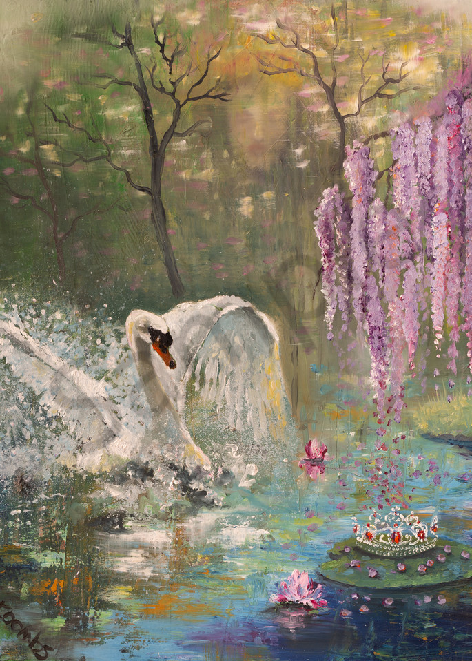 """""""Dream Of The Queen"""" by UK artist Yvonne Coombs 