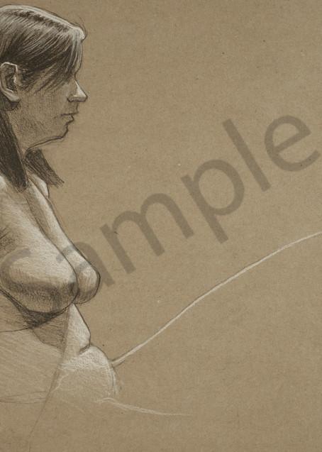 Seated Figure Art | Warfield Art and Design