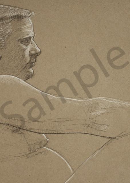 Male Repose Art | Warfield Art and Design