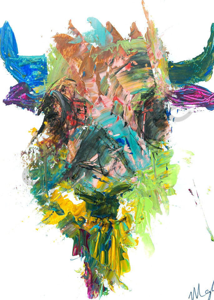 Greencheeks / Bison