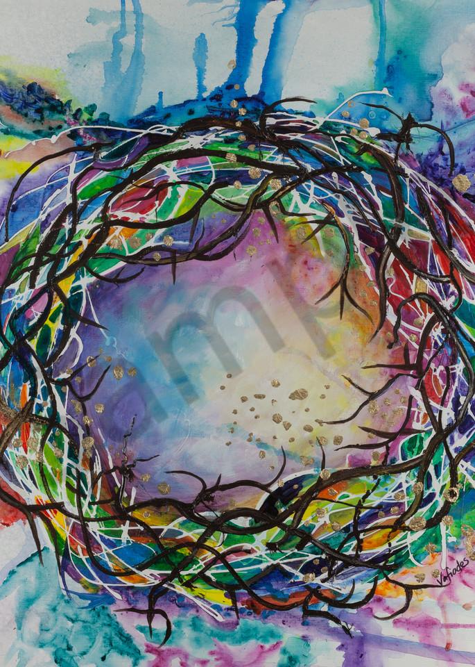 """""""Diadem Redemption"""" by Lori Vafiades / Prophetics Gallery"""