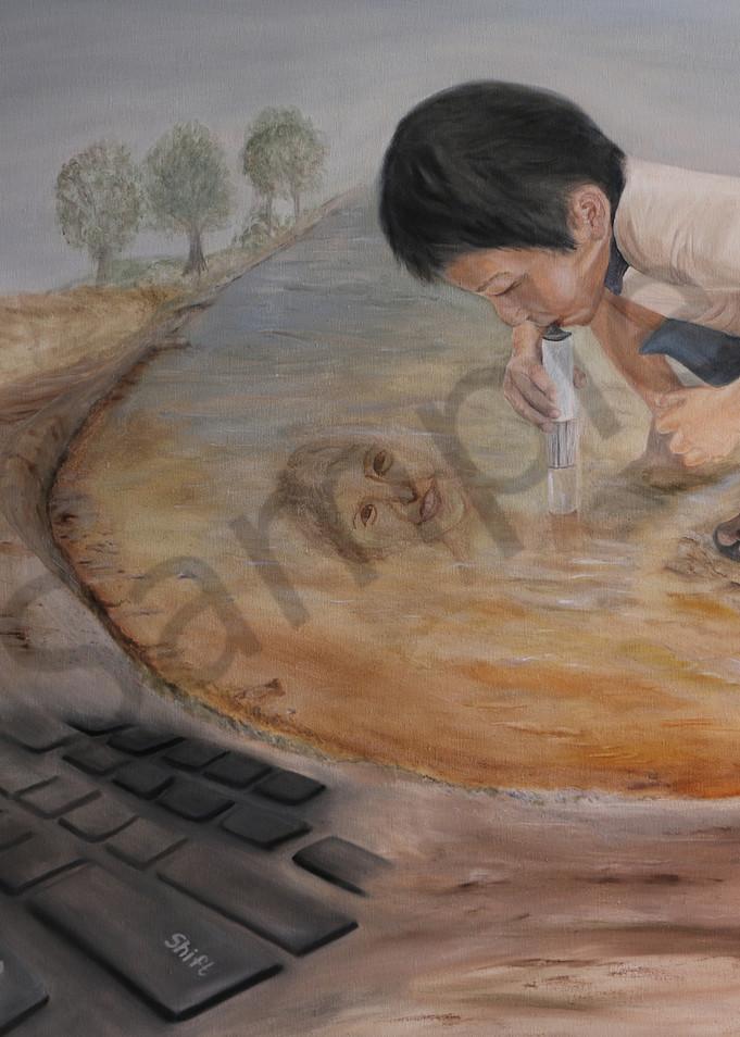 """Helping Innovation"" by Ildiko Mecseri / Prophetics Gallery"