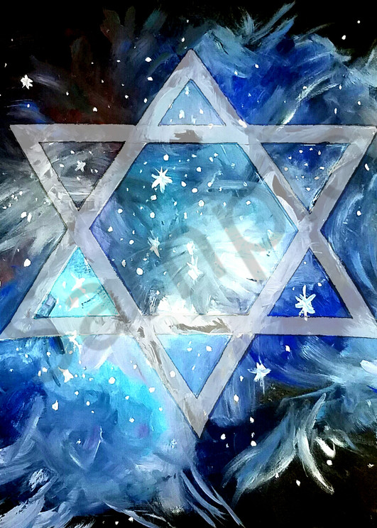 """""""Star Of David"""" by Curtis Sikes / Prophetics Gallery"""
