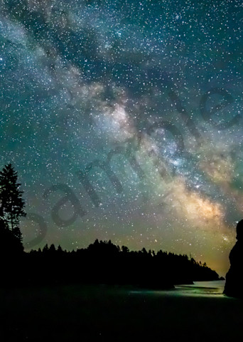 Pnw Ruby Beach Milky Way 2 Photography Art | John Martell Photography