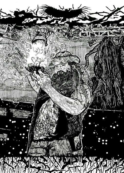 Bray Wyatt of the WWE