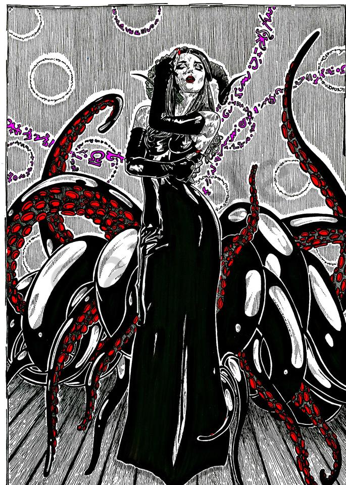 Gothic queen casting rital