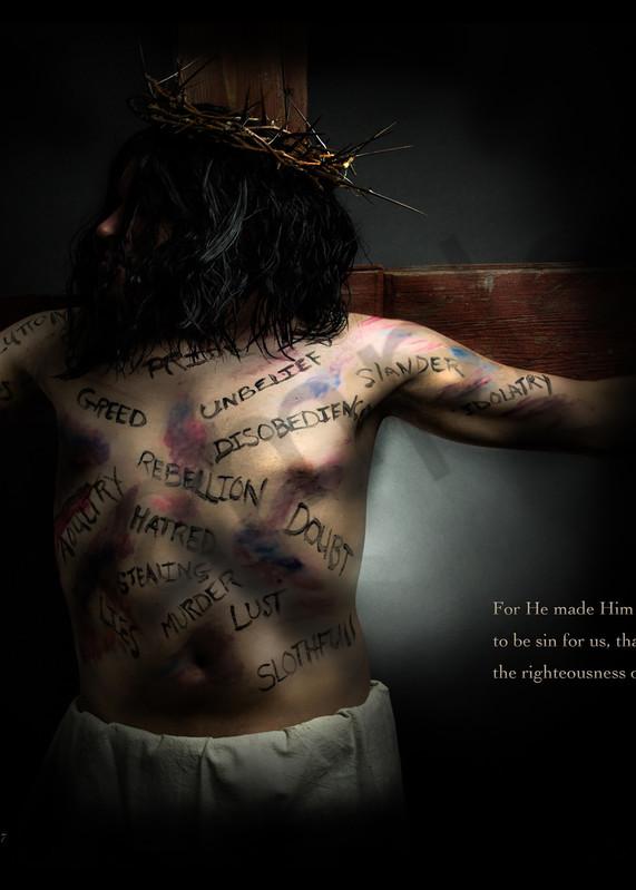 """He Became Sin"" by Michigan Fine Art Digital Photographer Kimberly Fletcher / Prophetics Gallery"