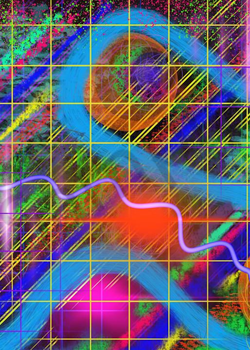 Electric Feel|Digital Art by Todd Breitling