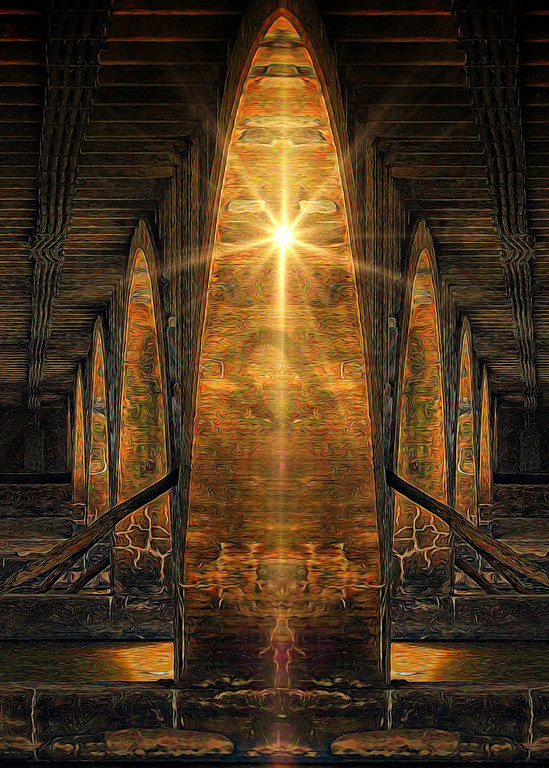 """Under The Bridge"" by digital artist John W. Lewis   Prophetics Gallery"
