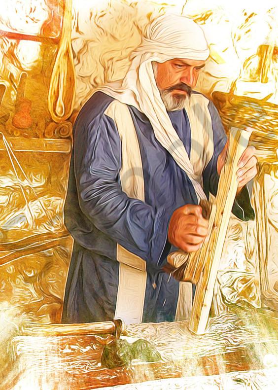 """Carpenter At Nazareth"" by John W. Lewis   Prophetics Gallery"