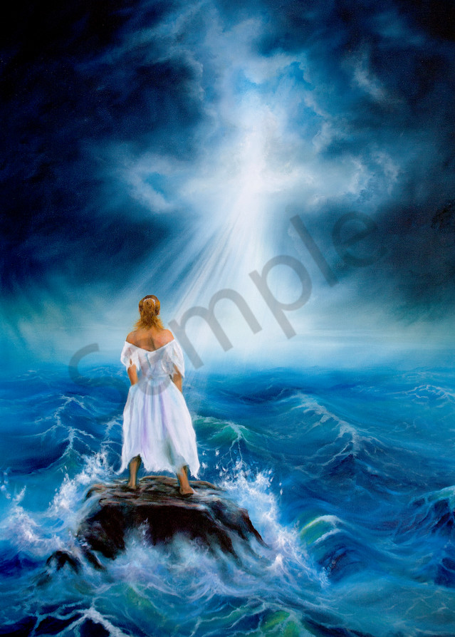 """""""My Deliverer"""" by Canadian Artist Jeanette Sthamann 