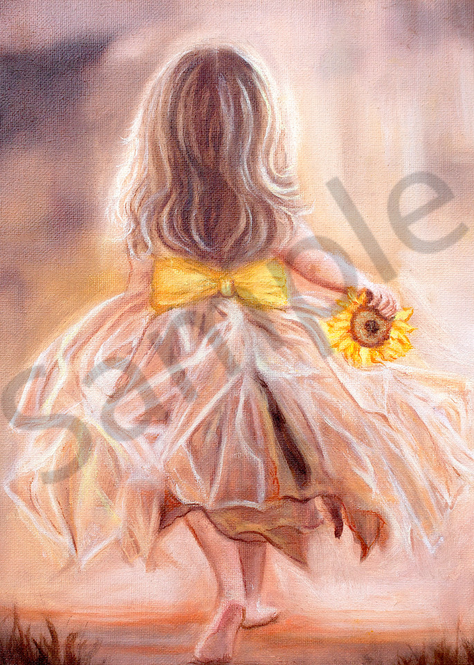 """""""You Carry My Sunshine"""" by Canadian Artist Jeanette Sthamann 