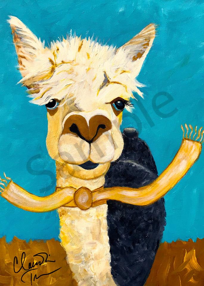 Betsy Ross the Alpaca