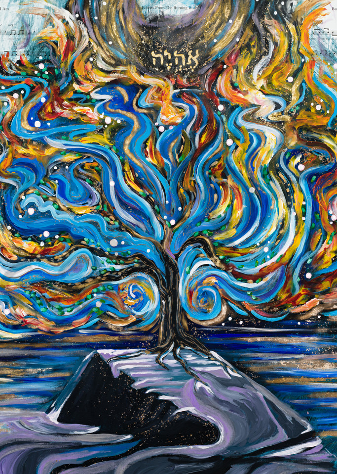 """Ehyeh - I AM"" by Arizona Artist Heidi Ngai | Prophetics Gallery"