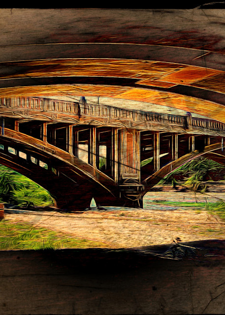 """Under The Bridge 2"" by John W. Lewis | Prophetics Gallery"