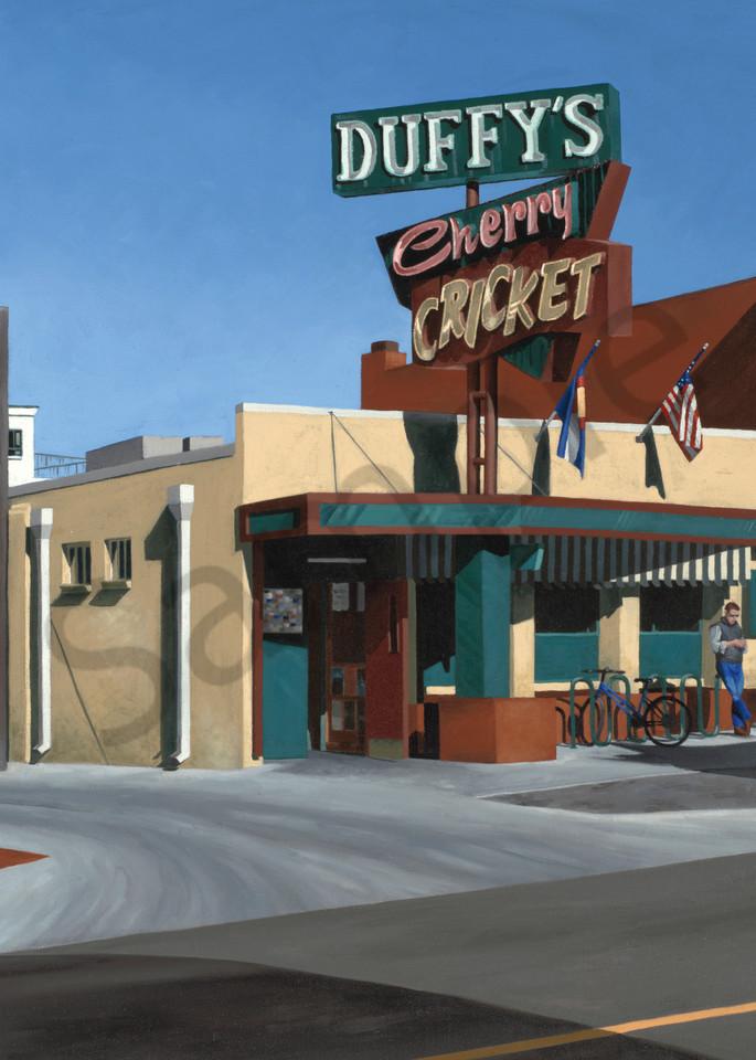 Duffy's Cherry Cricket | Denver, CO | Art Prints & Original Oil Painting