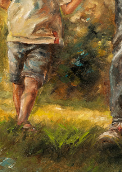 """""""Delight With Father"""" by South African Artist Ronel Eksteen   Prophetics Gallery"""