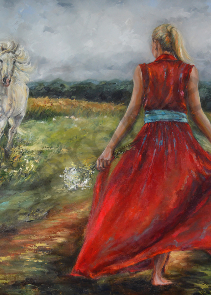 """""""Walking In Righteousness"""" by South African Artist Ronel Eksteen 