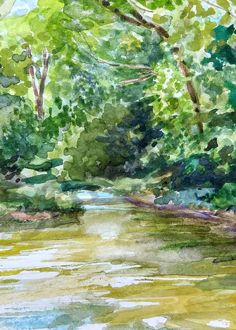 """Emory Adams Park"" by Jennifer Sowders   Prophetics Gallery"